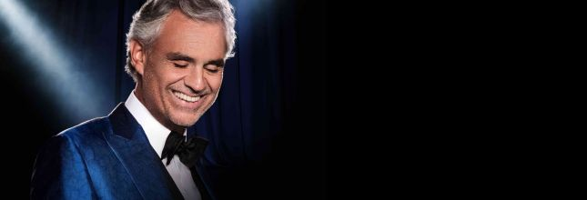 Buy your Andrea Bocelli tickets