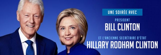Bill Clinton Montreal 2018 ticket - 28 November 19h30