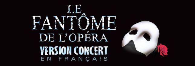 Le Fantôme de l'Opéra (version concert en français) Montreal 2020 ticket - 25 January 19h30