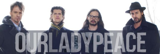 Our Lady Peace Quebec 2019 ticket -  1 September 20h00