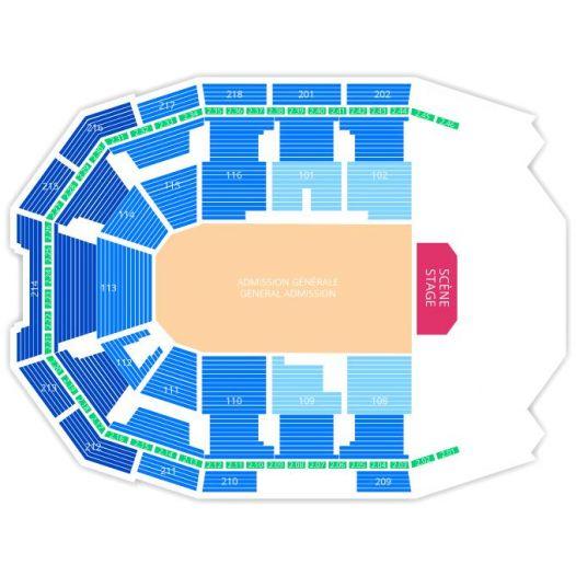 RUSS Tickets 2019 - Concert RUSS Laval Place Bell - RUSS