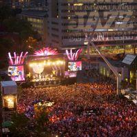 Festival de Jazz - scène extérieure