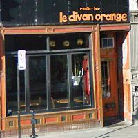 Divan Orange